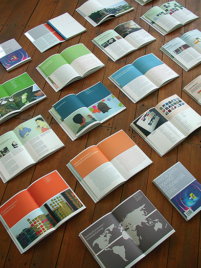 cover and inside pages of the interaction ivrea publication - esther mildenberger, envision+