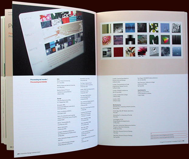 inside pages of the interaction ivrea publication - esther mildenberger, envision+