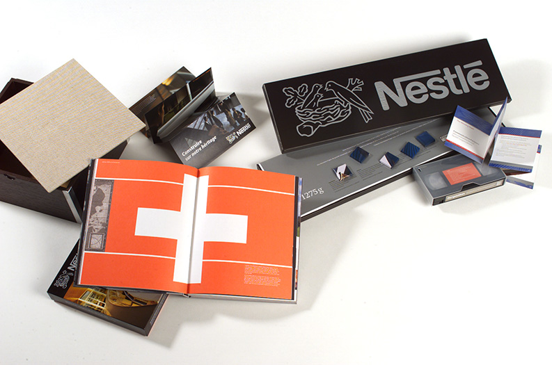 nestle book, film and printed matter to commemorate their headquarter building renewal - esther mildenberger, envision+