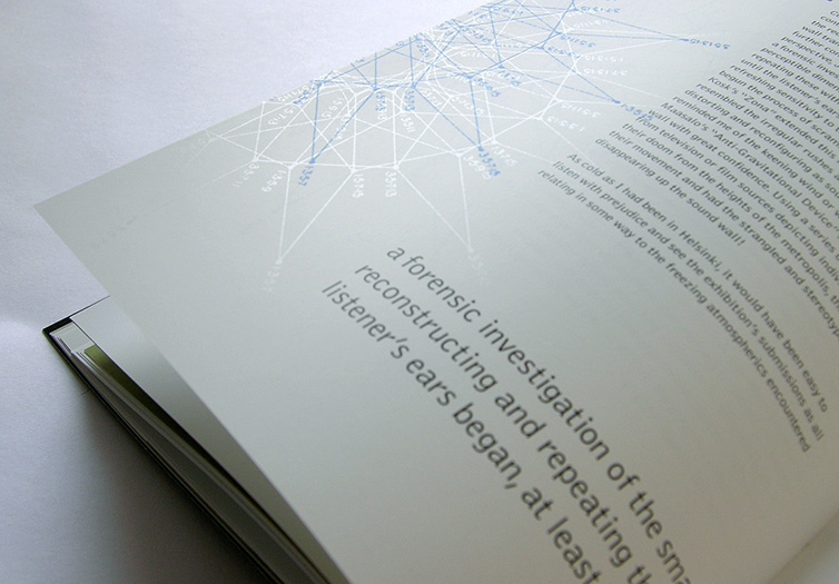 inside page detail of themepark magazine for issue four - motion - brian switzer, esther mildenberger, envision+