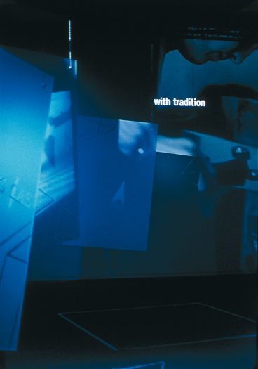 rca exhibition section for the victoria & albert museum (v&a) exhibition a grand design - esther mildenberger, envision+